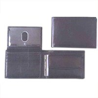 Black Leather Wallets