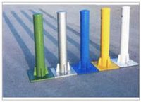Powder Coated Flange Pillar
