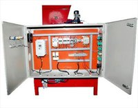 Seed Coating Machine Control Panels