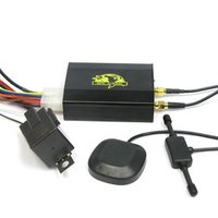 GPS/GPRS/GSM Vehicle Tracker with Cut Power And Oil Function