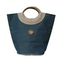 Jute Cane Handle Bags