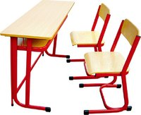 Double Detachable Desk and Chair