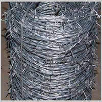 Barbed Wire Or Barbed Fence