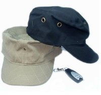 Hidden Hat Camera with Motion Detection