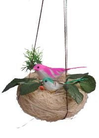 Banana Fibre Bird Nest