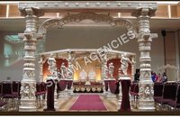 Wedding Carved Mandap