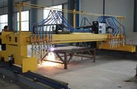 Steel Strips Flame Cnc Cutting Machine