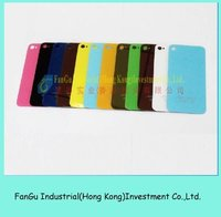 Colorful Back Cover Glass for iPhone