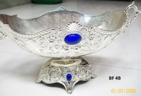 Designer Silver Fruit Bowl