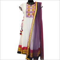 Embroidered Anarkali Suit