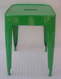 Iron Tolix Stool