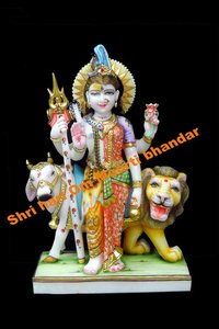 Marble Ardhnareshwer Statue