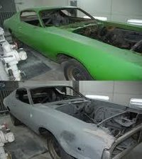 Automotive Paint Removal