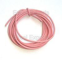 Indian Pink Leather Laces