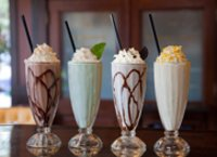 Milk Shakes And Flavoured Milk