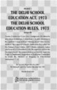 Akalank`S Delhi School Education Act And Rules 2012 ( English )