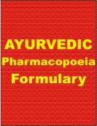 Ayurvedic Pharmacopoeia Of India Part Ii Volume 1 ( English )