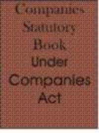 Companies Statutory Book (10 In 1) ( English )