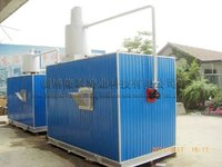 1 Ton/Day Move-able Ceramic Frit Glass Melting Furnace
