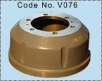 Front & Rear Brake Drum (S-CAM Brake)