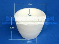 30ML Alumina Ceramic Crucible With 99% Alumina