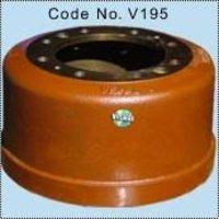 Rear Brake Drum (Extra Big Brake Line) 10 Ton Axle