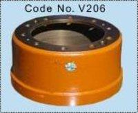 Rear Brake Drum 2516