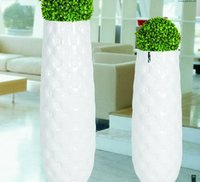 Stylish White Vase