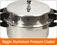 Bulged Walls Pressure Cooker