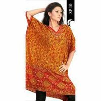 Designer Beach Kaftan For Ladies