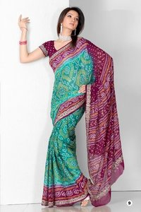 Bandhni Sarees