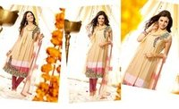 Semi Stiched Salwar Kameez
