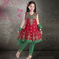 Party Wear Kids Salwar Suits