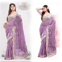 Designer Stylish Party Wear Sarees
