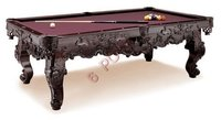 Polished Pool Table