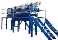 Filter Press With Structural Frame