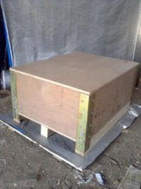 Steel Strip Plywood Box