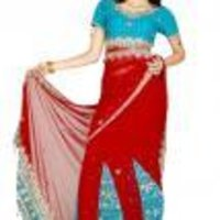 Ethenic Stylish Party Wear Saree