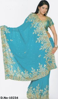 Fancy Heavy Border Saree