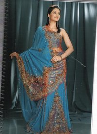 Embroider Saree