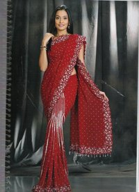 Women Embroidery Saree