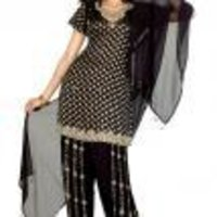 Designer Black Patial Salwar Suit