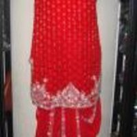Traditional Red Salwar Suits