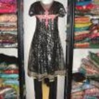 Black Net Salwar Suits