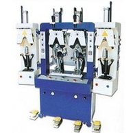 2 Cool And 2 Hot Stations Backpart Moulding Machine
