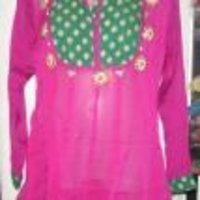 Ladies Pink Kurti