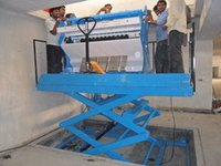 Scissor Lift Hydraulic Type