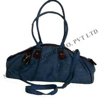 Cotton Denim Canvas Bag