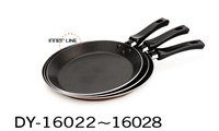 Aluminum Frypan With Crossline Interior