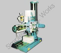 Semi Geared Radial Drilling Machine